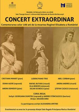 3. Concert in memoria Reginei Elisabeta a Romaniei